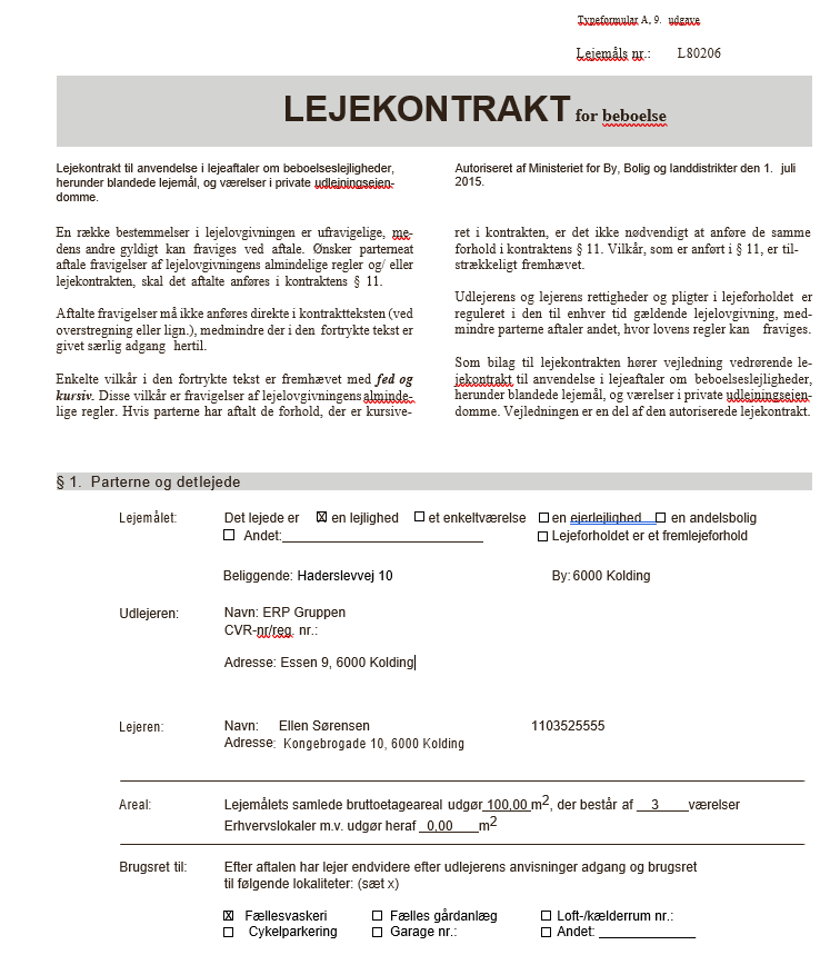 lejekontrakt screenshot